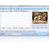Screenshot af Pavtube MTS/M2TS Converter for Mac