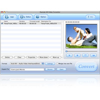 Screenshot af Pavtube HD Video Converter for Mac