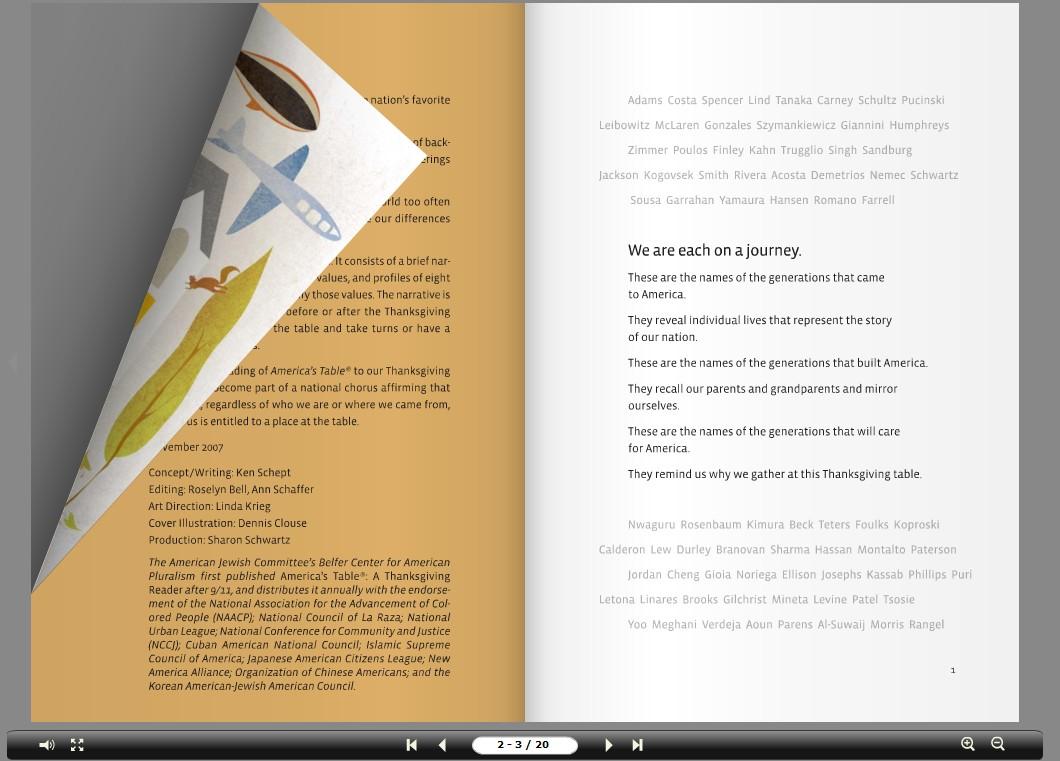 Screenshot af aXmag ePublisher