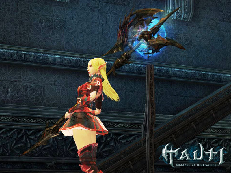 Screenshot af Lineage II: Goddess of Destruction