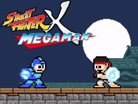 Screenshot af Street Fighter X Mega Man