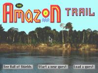 Screenshot af The Amazon Trail
