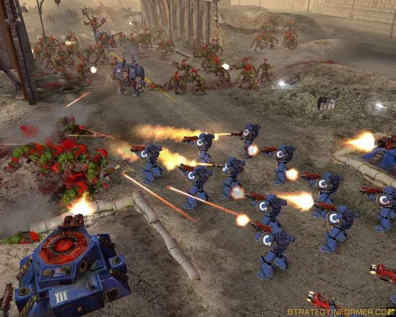 Screenshot af Warhammer 40.000:
