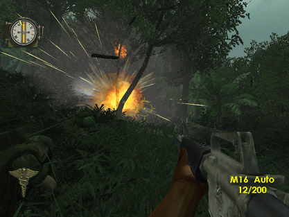 Screenshot af Men of Valor: The Vietnam War