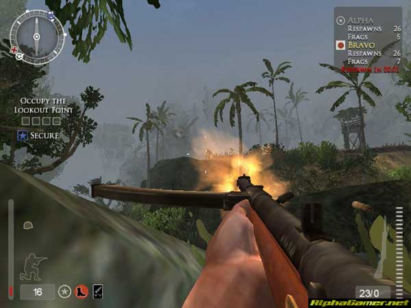 Screenshot af Medal of Honor  - Pacific Assault (SinglePlayer)