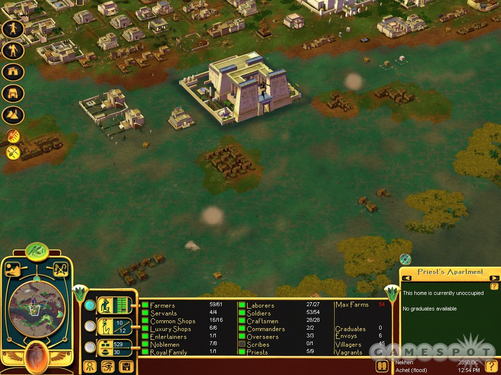 Screenshot af Immortal Cities: Children of the Nile