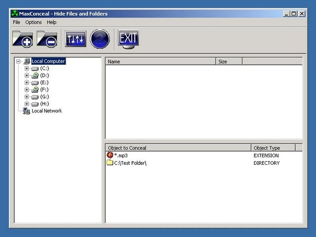 Screenshot af MaxCrypt