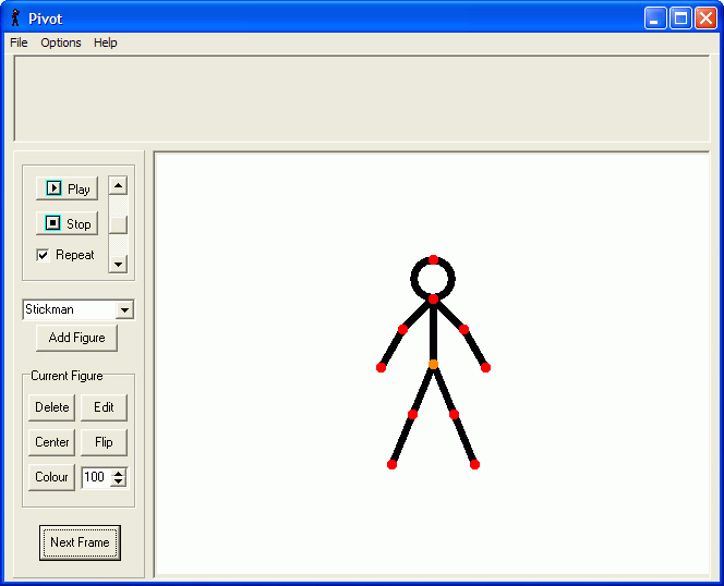 Screenshot af Pivot Stickfigure Animator