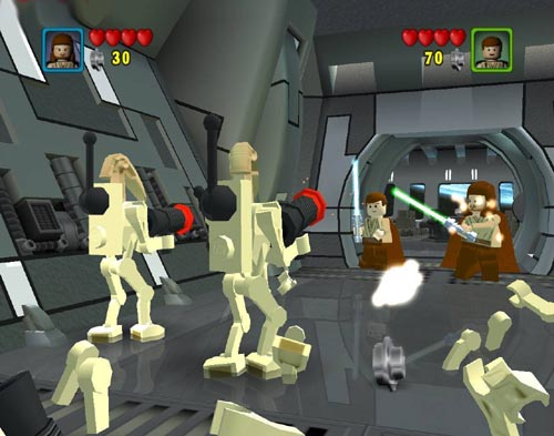 Screenshot af LEGO Star Wars