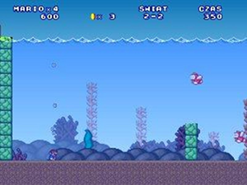 Screenshot af Super Mario 3: Mario Forever