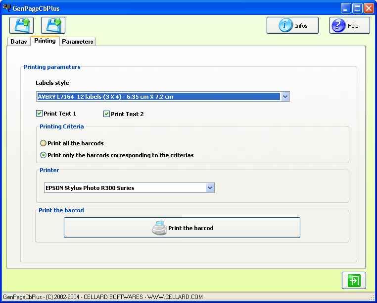 Screenshot af GenPageCbplus