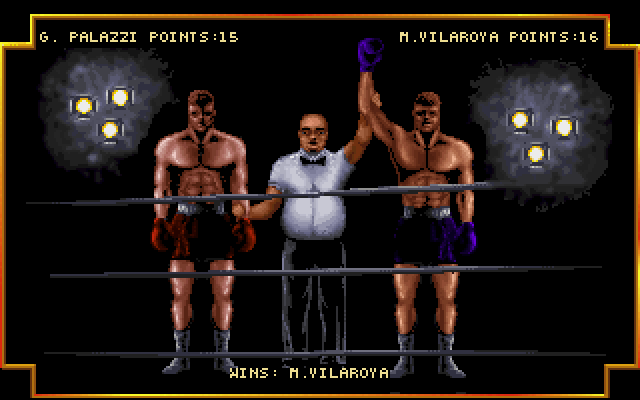 Screenshot af 3D World Boxing
