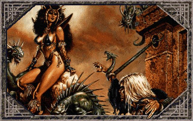 Screenshot af The Dark Queen of Krynn