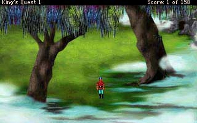 Screenshot af King's Quest 2