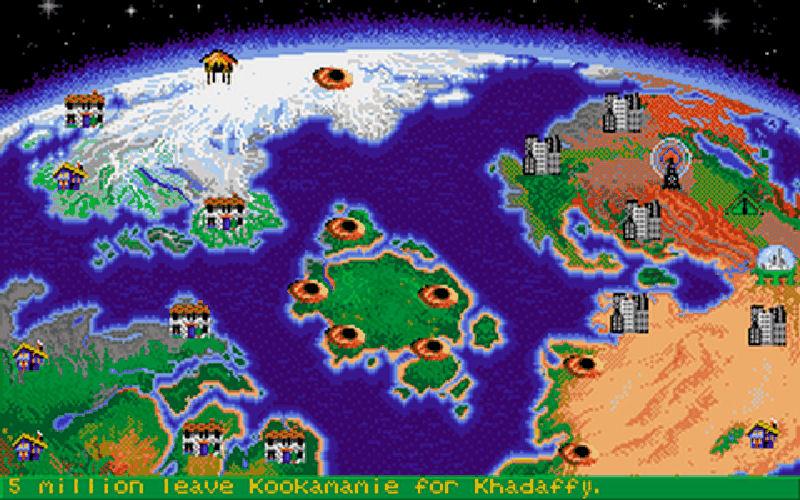 Screenshot af Nuclear War