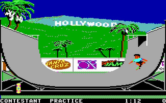 Screenshot af California Games - Calgames