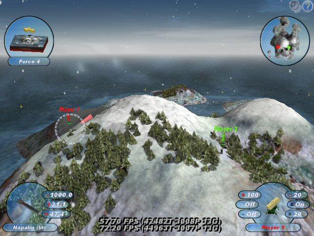 Screenshot af Scorched 3D