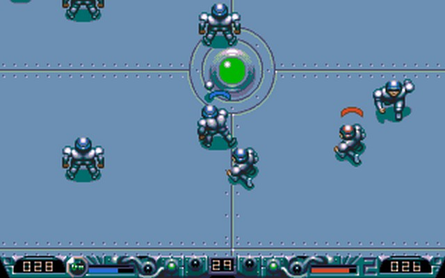Screenshot af Speedball 2 - Brutal Deluxe