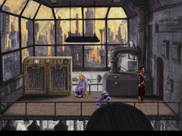 Screenshot af Beneath a Steel Sky