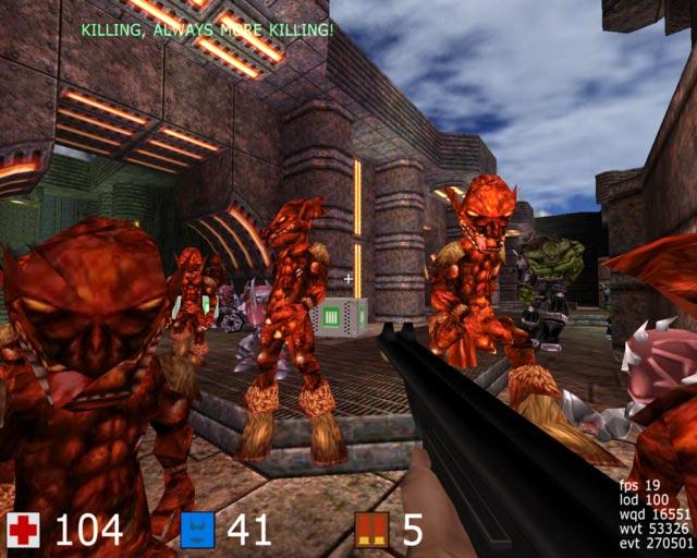 Screenshot af Cube