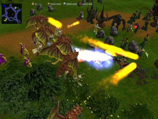 Screenshot af Glest