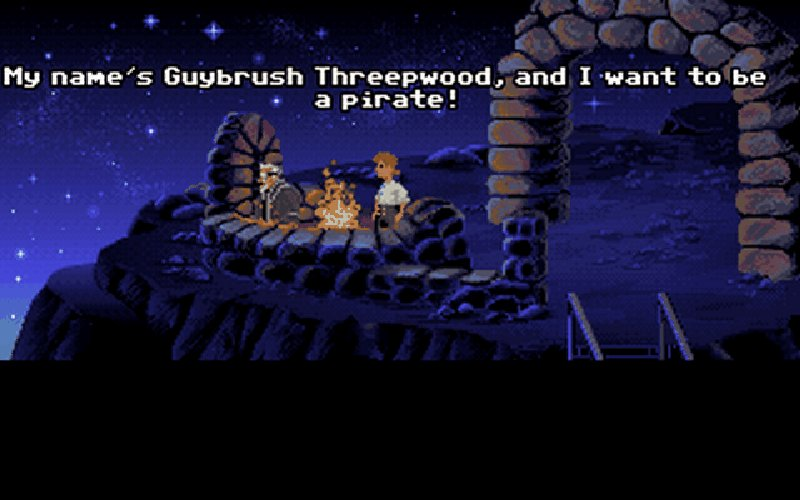 Screenshot af Monkey Island 1: The Secret of Monkey Island