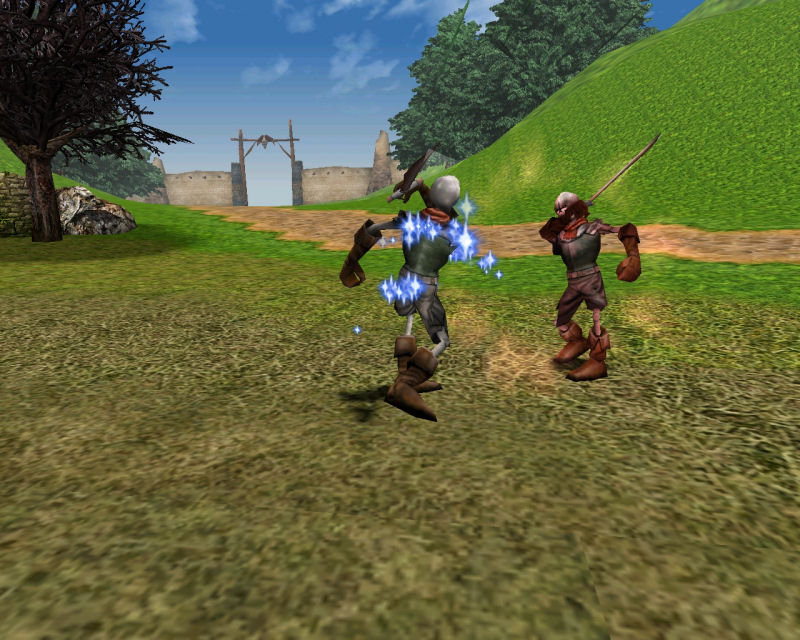 Screenshot af Knight Online