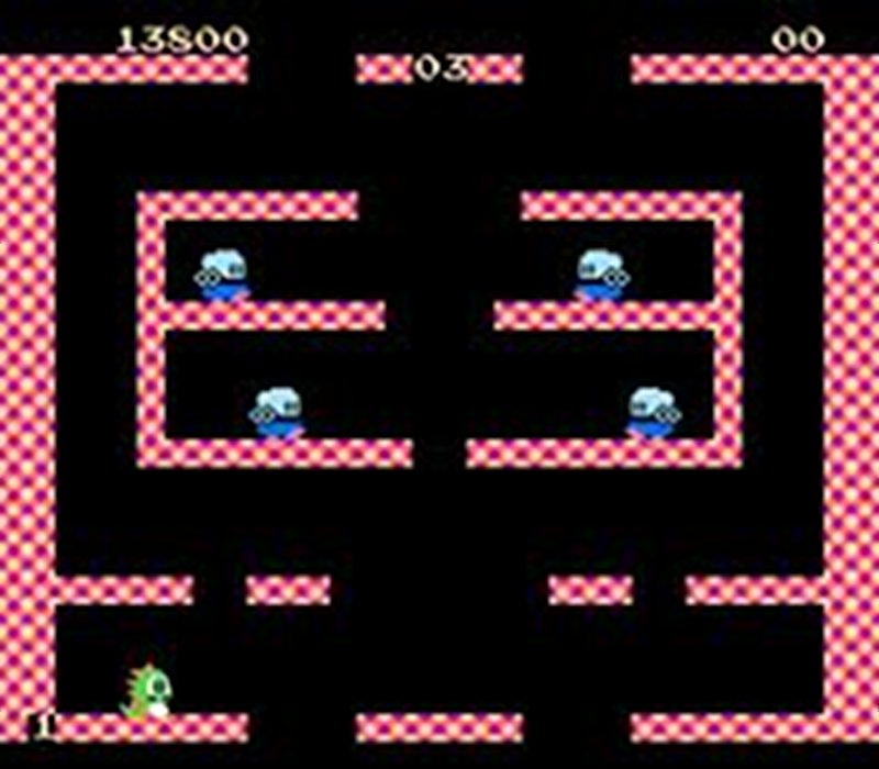 Screenshot af Bubble Bobble
