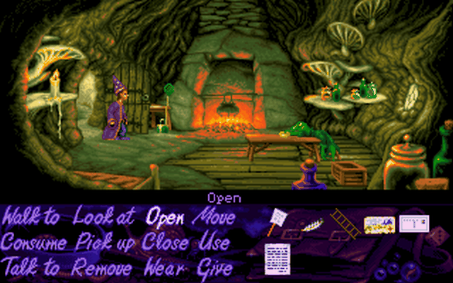 Screenshot af Simon the Sorcerer 2 - The Lion, the Wizard and the Wardrobe