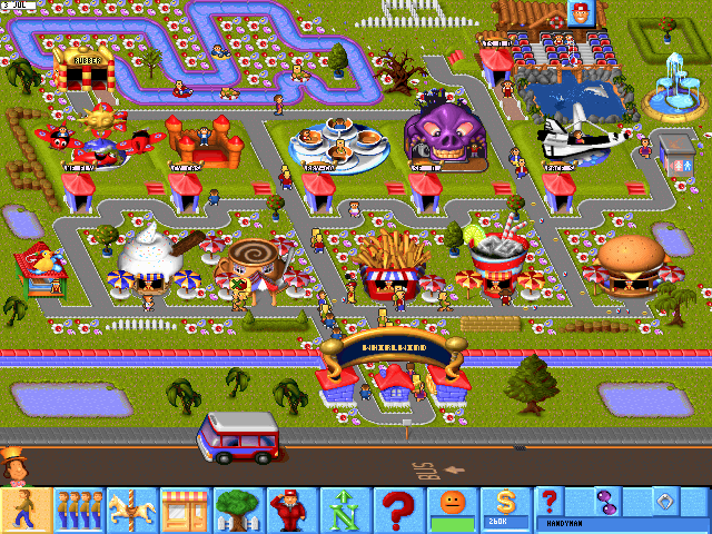 Screenshot af Sim Theme Park