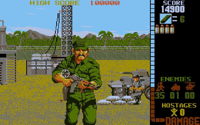 Screenshot af Operation Wolf